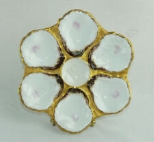 Antique Haviland Limoges Porcelain Oyster Plate Bailey Banks & Biddle c. 1876