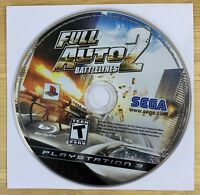 Full Auto 2 Battlelines PlayStation 3 PS3 DISC ONLY EXCELLENT/NEAR-MINT