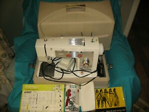 Vtg Montgomery Ward Sewing Machine Model UHT J1276 Made In Japan Tested