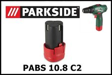 Bateria taladro atornillador Parkside 10v Battery Drill Screwdriver PABS 10.8 C2