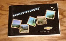 Original 1999 Chevrolet Venture Owners Operators Manual First Edition 99