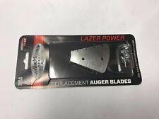 "Strikemaster Ice Fishing Auger Drill Lazer Power Replacement Blade 6"" LPD-6PB"