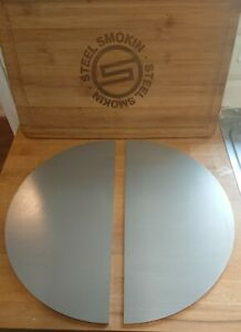"KJ CLASSIC II, III, 15"" Half Moon Set Heavy Duty Stainless Steel 5mm Thick"