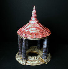 Temple, pointed roof, for fantasy war games like Warhammer and Frostgrave