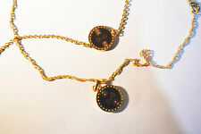14k GOLD FILLED Jewelry Set from Israel - Necklace and Bracelet