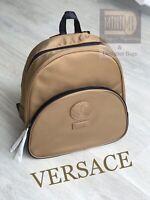 🆕🧡❤️💜Versace Gold Luxury Backpack Rucksack 100% GENUINE Bag Pack in Dust Bag