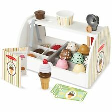 Melissa and Doug Ice Cream Counter Kids Children's Play Toy Serving Set