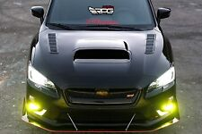 RPG RR Vacuum Carbon Hood Vent for 15 16 17 18 Subaru Impreza WRX STi VAB VAF