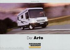 Prospekt Niesmann + Bischoff Arto 2004 Reisemobil Wohnmobil Broschüre motorhome