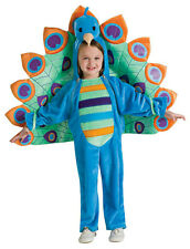 Fancy Deluxe Peacock Bird Child Costume Newborn 0-6 months