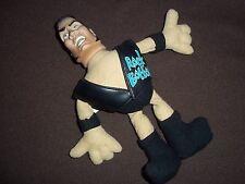 """Vtg.Jakks Pacific WWF Bangers 9"""" Plush Action Figure, THE ROCK   #WB06"""