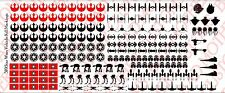 1/18 Scale Tattoos: Star Wars Kill Markings for Vehicles - Waterslide Decals
