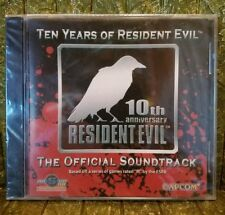 BRAND NEW Ten Years of Resident Evil 10th Anniversary Official Soundtrack SEALED