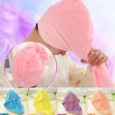 Bath Towel Hair Quick Drying Sauna Spa Tub Cap Head Wrap Shower Bath Caps 1Pcs