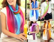 Chiffon Patternless Scarf Scarves & Wraps for Women