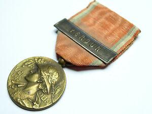 Décoration médaille de VERDUN Type PRUDHOMME avec barrette / 001
