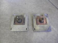 2 -Federal Signal Twinsonic Model 12  mounting plate ASSEMBLIES