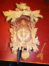 22 INCH  CUCKOO CLOCK AROUND 1970 - 2000  IN FUNKTION I THINK  SELF MADE CASE