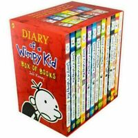 Diary of a Wimpy Kid Box Set : Books 1-12 by Jeff Kinney (2019, Paperback)