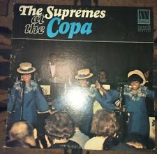 The Supremes - At The Copa Lp Vinyl Record 1965 Motown Detroit