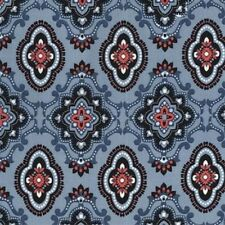 Michael Miller Equestrian Cx7237 Denim Waylon Bty Cotton Fabric
