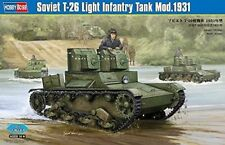 "Hobbyboss 1:35 Scale ""Soviet T-26 Light Infantry Tank Mod 1931"" Assembly Kit"