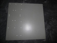 LEGO 1 Grundplatte 32 x 32 Noppen Hellgrau mit weißen Markierungen für 7838