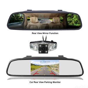 4.3''Mirror Monitor NightVision Backup Camera For HONDA PILOT 2003-2011