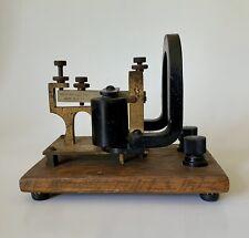 Antique c1880 Western Electric Duplex Telegraph Sounder Instrument