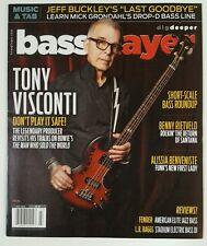 Bass Player Tony Visconti Jeff Buckley Review Fender July 2016 FREE SHIPPING JB