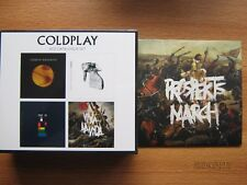 COLDPLAY: 4 CD CATALOGUE BOX SET. NEW & sealed + Bonus CD: Prospekt's March EP
