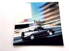 2002 Saab 93 95 Original Car Sales Brochure - Viggen Convertible 9-3 9-5