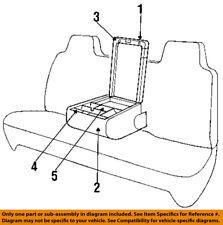 Dodge CHRYSLER OEM 99-01 Ram 1500 Front Seat-Armrest Base SS281C3AA