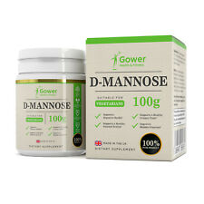 D-Mannose | 100g Pure Powder | Bladder Support/Urinary Tract Infections | Vegan