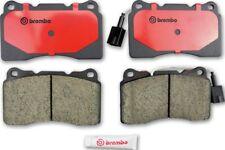 Disc Brake Pad Set-Premium NAO Ceramic OE Equivalent Pad Front Brembo P54039N