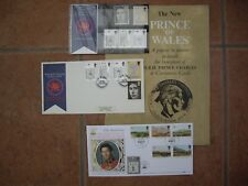 1969 Royal Mail Mint Stamps - Investiture of the Prince of Wales