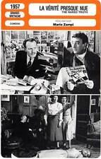 FICHE CINEMA : LA VERITE PRESQUE NUE - Sellers,Zampi 1957 The Naked Truth