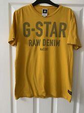 G Star RAw Mens T-shirt, Mutted Orange Size M