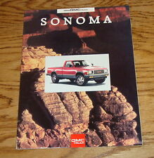 Original 1993 GMC Sonoma Sales Brochure 93