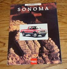 Original 1993 GMC Sonoma Sales Brochure 93