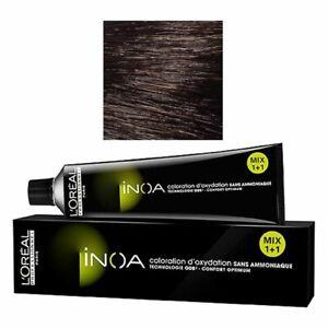 L'Oreal Paris Inoa Hair Color No. 4 Brown 60g