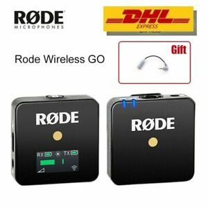 Rode Wireless GO Professional MIC Microphone For DSLR Youtube Live Stream Studio