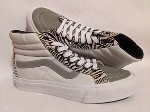 Vans New UA Sk8-Hi Reissue EF VLT LX Leather/Suede Men Size USA 9 Skate Shoes