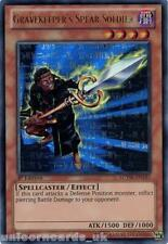 LCYW-EN185 Gravekeeper's Spear Soldier Ultra Rare 1st Edition Mint YuGiOh Card