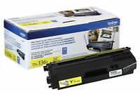 Brother Genuine TN336Y Yellow Toner Cartridge for HL-L8250CDN L8350CDW L8350CDWT