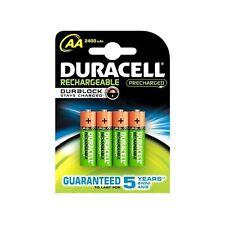 DURACELL rechargeable Préchargée NiMH 2400mAh AA HR6 1,2V V - 4 pièce