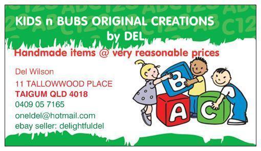Kids n Bubs Original Gear by Del