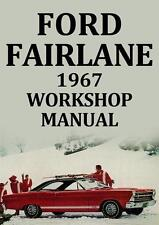 Ford books and manuals ebay ford fairlane workshop manual 1967 fandeluxe Gallery