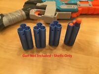 4 Nerf Compatible Zombie Strike Dart Shell Sledge Fire Blaster SledgeFire
