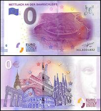 Zero (0) Euro Europe, 2017 - 1, UNC, Mettlach An Der Saarschleife in Germany
